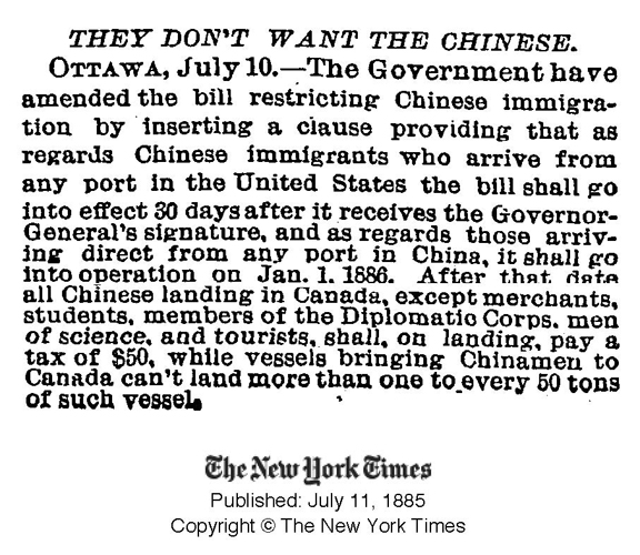the chinese immigration act and its effects on the chinese canadians The chinese immigration act affected and is still affecting canadians in many different ways - these differences mostly depend on what your ethnicity is if you are a chinese canadian, regardless of your citizen status, chances are you have encountered some form of racism in your lifetime.